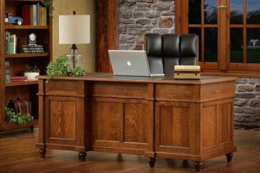 Amish Solid Wood Desks - Countryside Amish Furniture