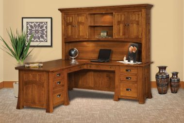 shaped desks our amish constructed l shaped corner desks promise an