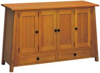 Solid Wood Buffets amp Servers Sideboards Countryside