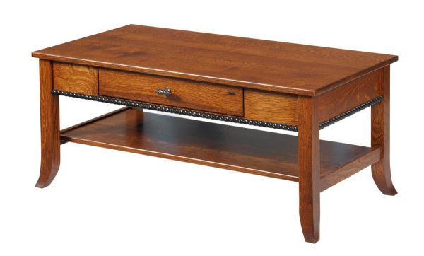 Richmond Shaker Style Coffee Table Countryside Amish Furniture
